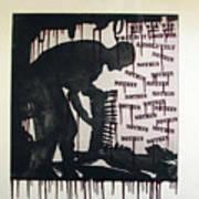 D U Rounds Project, Print 22 Art Print