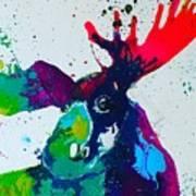 Da-moose Art Print