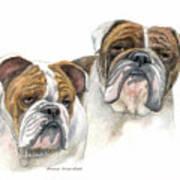 daBullies Print by Mamie Greenfield