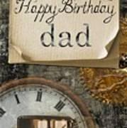 Dad's Birthday Art Print