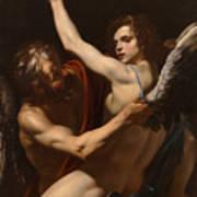 Daedalus And Icarus Art Print