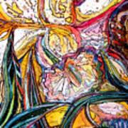 Daffodil Delirium Art Print