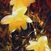 Daffs Gone Goth Art Print