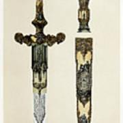 Dagger And Sheath Art Print
