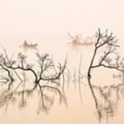 Dai Ninh Lake, Vietname Art Print