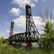 Dain City Railroad Bridge Art Print