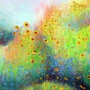Daisies And Cornflowers Art Print