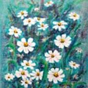 Daisies Golden Eyed Art Print