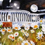 Daisy Desoto Art Print by Suzy Pal Powell