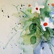 Daisy In The Vase Art Print