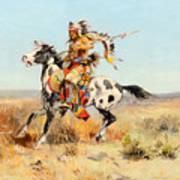 Dakota Chief Art Print