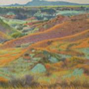 Dakota October Art Print