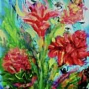 Dala Flower The Flower Of The Ampawa River Maket Art Print