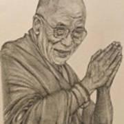 Dalai Lama Tenzin Gyatso Art Print