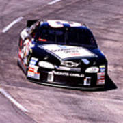Dale Earnhardt # 3 Goodwrench Chrvrolet 1999 At Martinsville Art Print