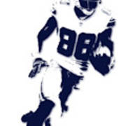 Dallas Cowboys Dez Bryant Art Print