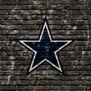 Dallas Cowboys Nfl Football Art Print