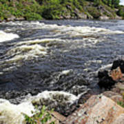 Dalles Rapids French River I Art Print