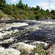 Dalles Rapids French River II Art Print