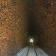 Dalveen Railway Tunnel 1880 Art Print