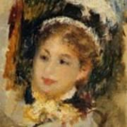 Dame En Toilette De Ville 1875 Art Print