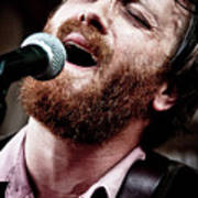 Dan Auerbach And The Fast Five Performs At The Mean Eyed Cat Dur Art Print