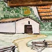 Dan Lawson Barn Art Print