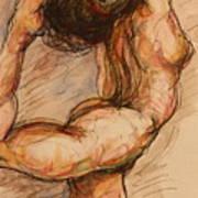 Dance After Rodin Art Print