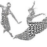 Dance Beauty Art Print