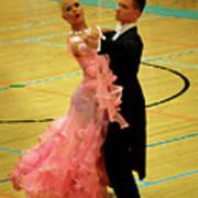 Dance Contest Nr 17 Art Print
