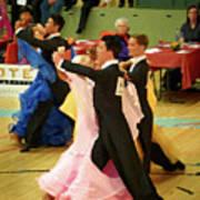 Dance Contest Nr 18 Art Print