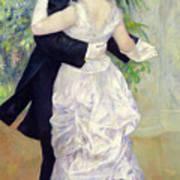 Dance In The City Art Print by Pierre Auguste Renoir