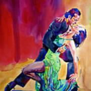 Dance Intense Art Print
