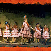 Dance Of La Ninos Art Print