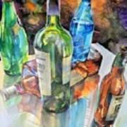 Dance Of Light And Glass Art Print