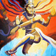Dance Of Shiva Art Print