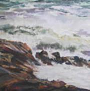 Dance Of The Rising Tide Art Print
