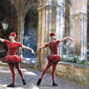 Dance Of The Swiss Guard Art Print