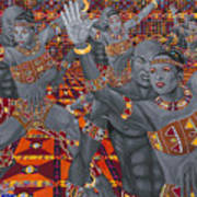 Dance Sankofa Art Print