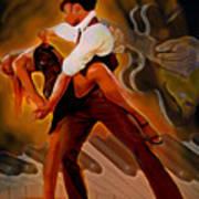 Dance Scene Xv Art Print