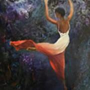 Dancer A Art Print