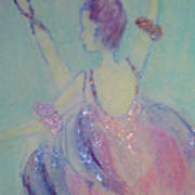 Dancer At The Follies Art Print
