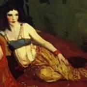 Dancer Of Delhi Betalo Rubino 1916 Art Print