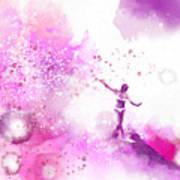Dancer On Water 4 Art Print