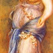 Dancer With Castanettes 1909 Art Print