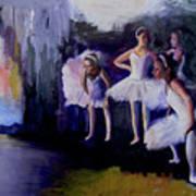 Dancers Backstage Art Print