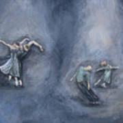 Dancers Art Print by Michelle Iglesias