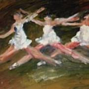 Dancers   Two Art Print