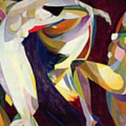 Dances Print by Arthur Bowen Davies