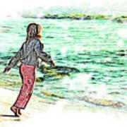 Dancin' With The Sunrise Art Print